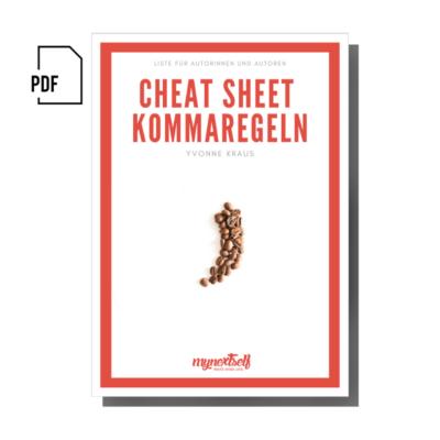 Cheat Sheet Kommaregeln