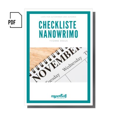 Checkliste NaNoWriMo