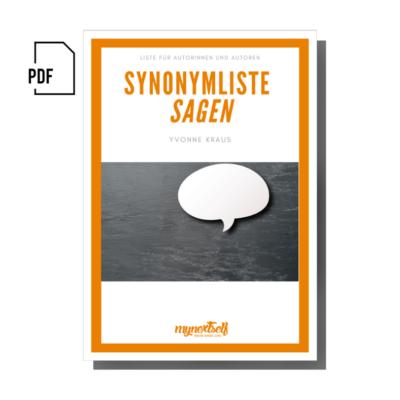 Synonyme SAGEN