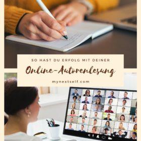 Autorenlesung online