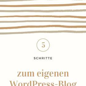 Blog erstellen Blog starten